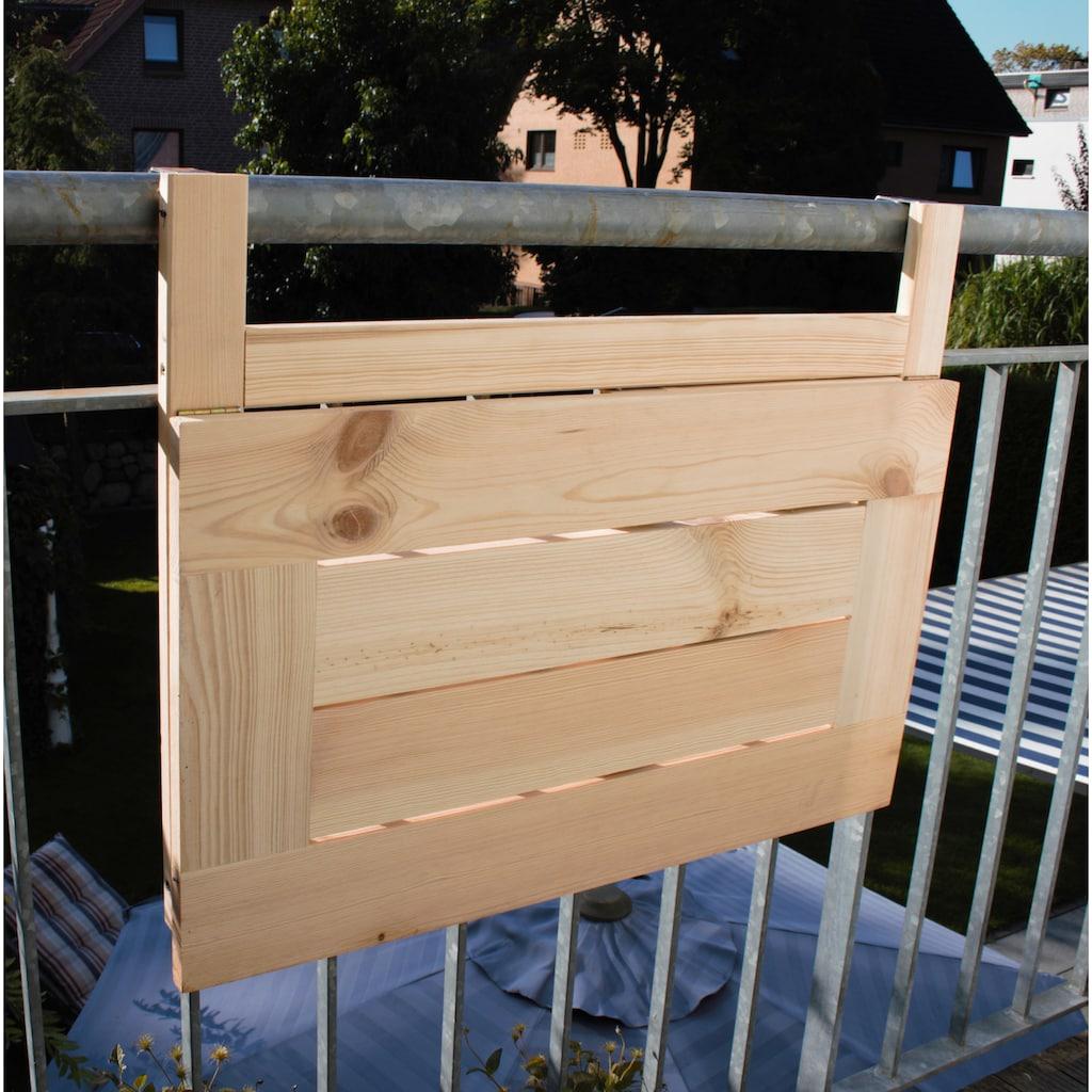 promadino Balkonhängetisch, BxTxH: 70x46x115 cm