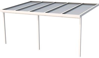 GUTTA Terrassendach »Premium«, BxT: 510x306 cm, Dach Acryl bronce kaufen