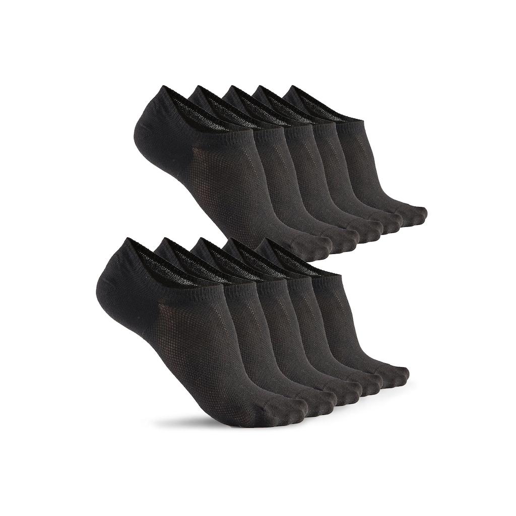 Bench. Sneakersocken, (10 Paar), mit Pikeestruktur