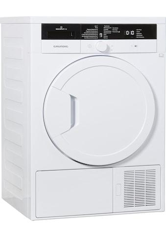 Grundig Wärmepumpentrockner »GTN 27240 M« kaufen