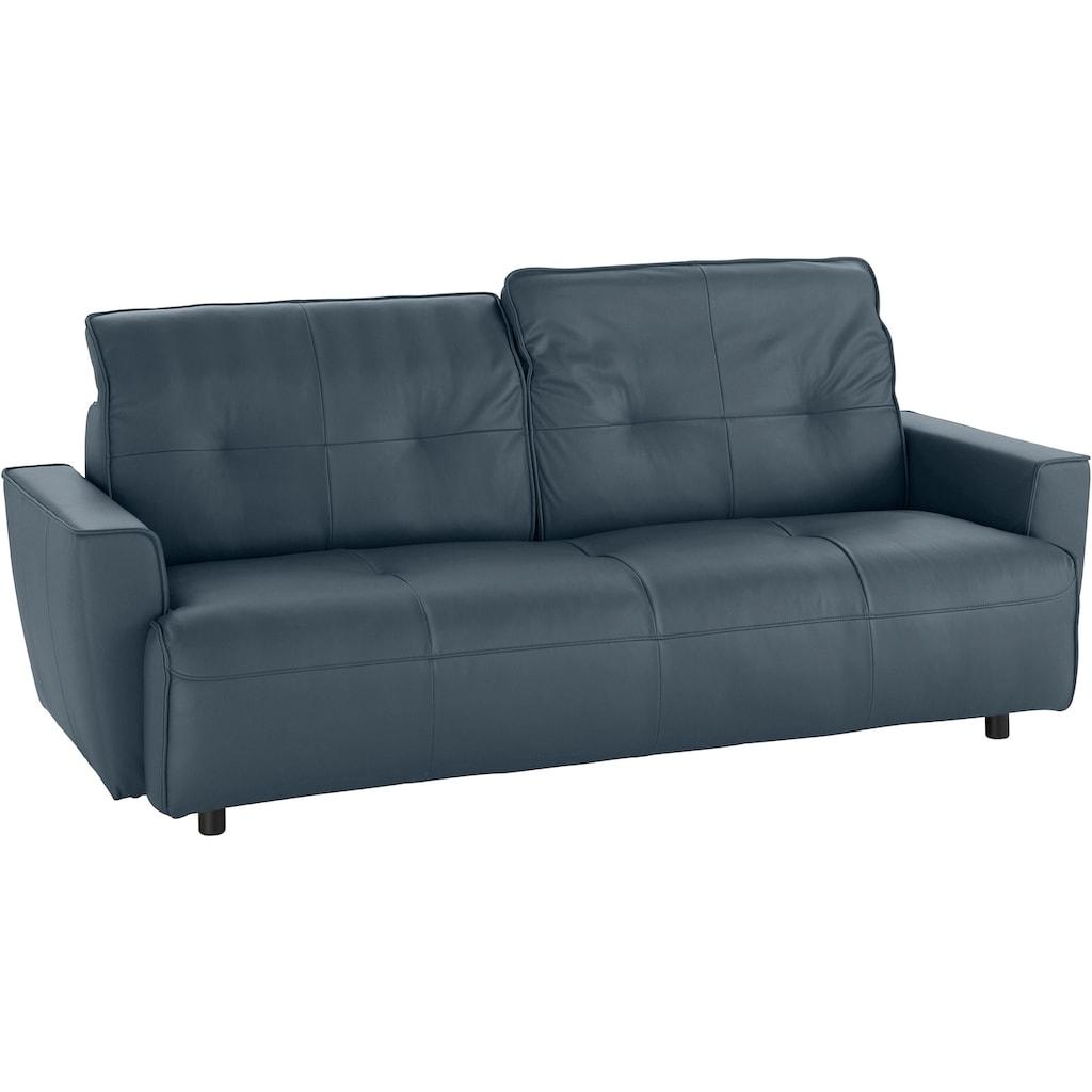 hülsta sofa 3,5-Sitzer »hs.400«, mit Rückenverstellung, Breite 216 cm