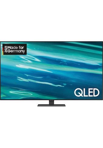"Samsung QLED-Fernseher »GQ55Q80AAT«, 138 cm/55 "", 4K Ultra HD, Smart-TV kaufen"