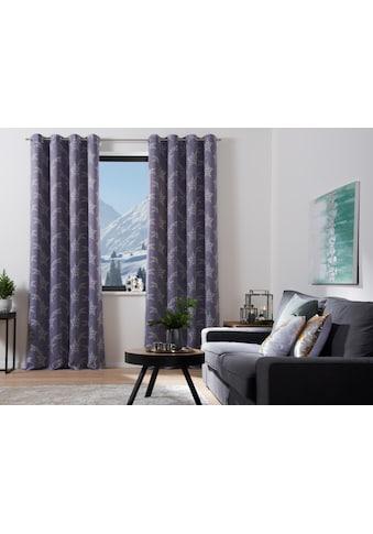 Vorhang, »Sternschnuppe«, my home Selection, Ösen 1 Stück kaufen
