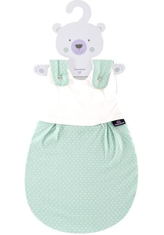 Träumeland Babyschlafsack »Außenschlafsack Pünktchen mint«, (1 tlg.) kaufen
