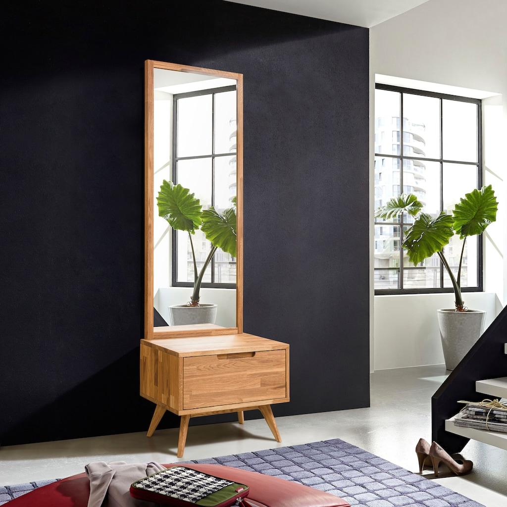 andas Spiegel »Scandi«, praktischer Zweiteiler, aus einer Aufbewahrungskommode, inklusive eines Spiegels