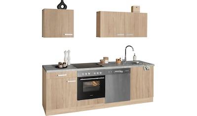 OPTIFIT Küchenzeile »Leer«, 240 cm breit, inkl. Elektrogeräte der Marke HANSEATIC kaufen