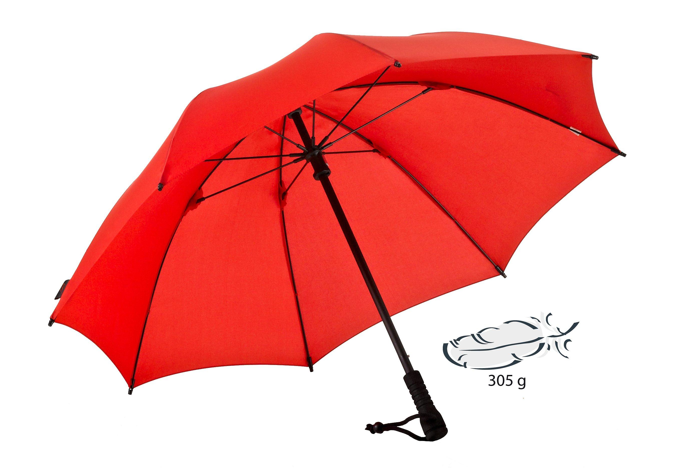Euroschirm® Regenschirm, »Swing Trekkingschirm«   Accessoires > Regenschirme > Sonstige Regenschirme   Rot   Glasfaser   EUROSCHIRM®