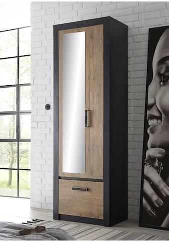 my home Garderobenschrank »BRÜGGE«, mit einer dekorativen Rahmenoptik kaufen