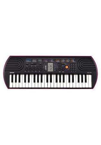 """CASIO Keyboard """"Mini - Keyboard SA - 78"""" kaufen"""