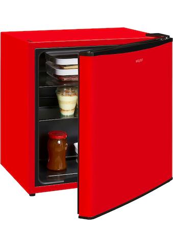 exquisit Table Top Kühlschrank »KB 05-15 A++«, KB 05-15 A++ rot, 50 cm hoch, 45 cm breit kaufen
