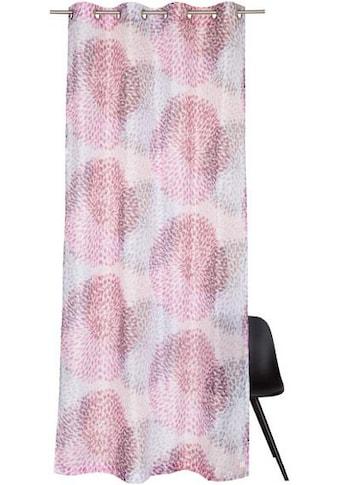 SCHÖNER WOHNEN-Kollektion Vorhang nach Maß »Sola«, mit zartem Blätterdruck kaufen