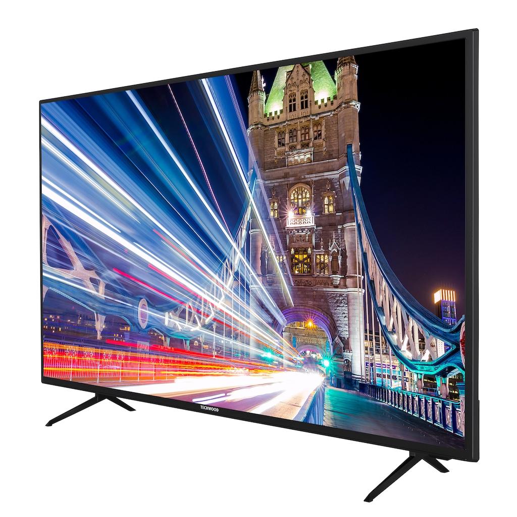 "Techwood LED-Fernseher »U50T52D«, 126 cm/50 "", 4K Ultra HD, Smart-TV"