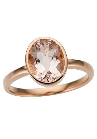 Firetti Goldring »Glamourös, glänzend, massiv«, mit Morganit kaufen