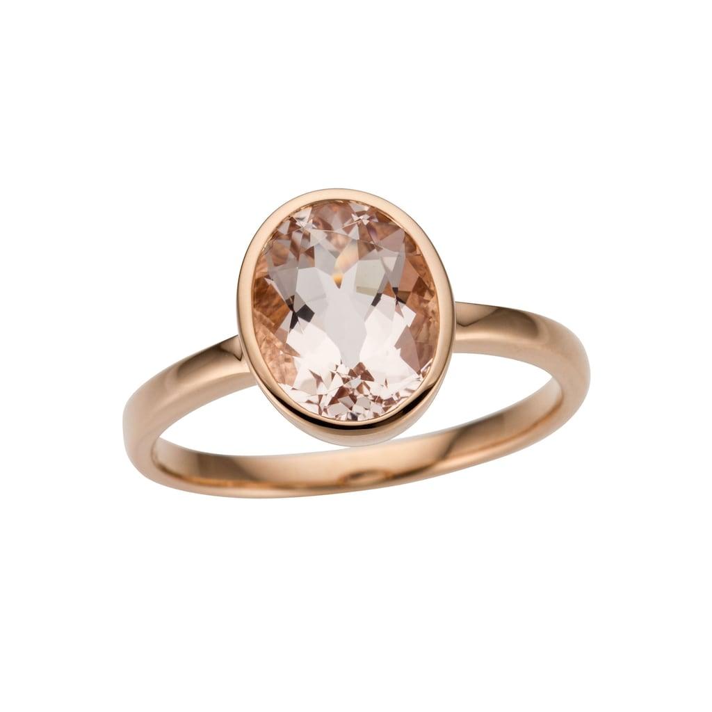 Firetti Goldring »Glamourös, glänzend, massiv«, mit Morganit