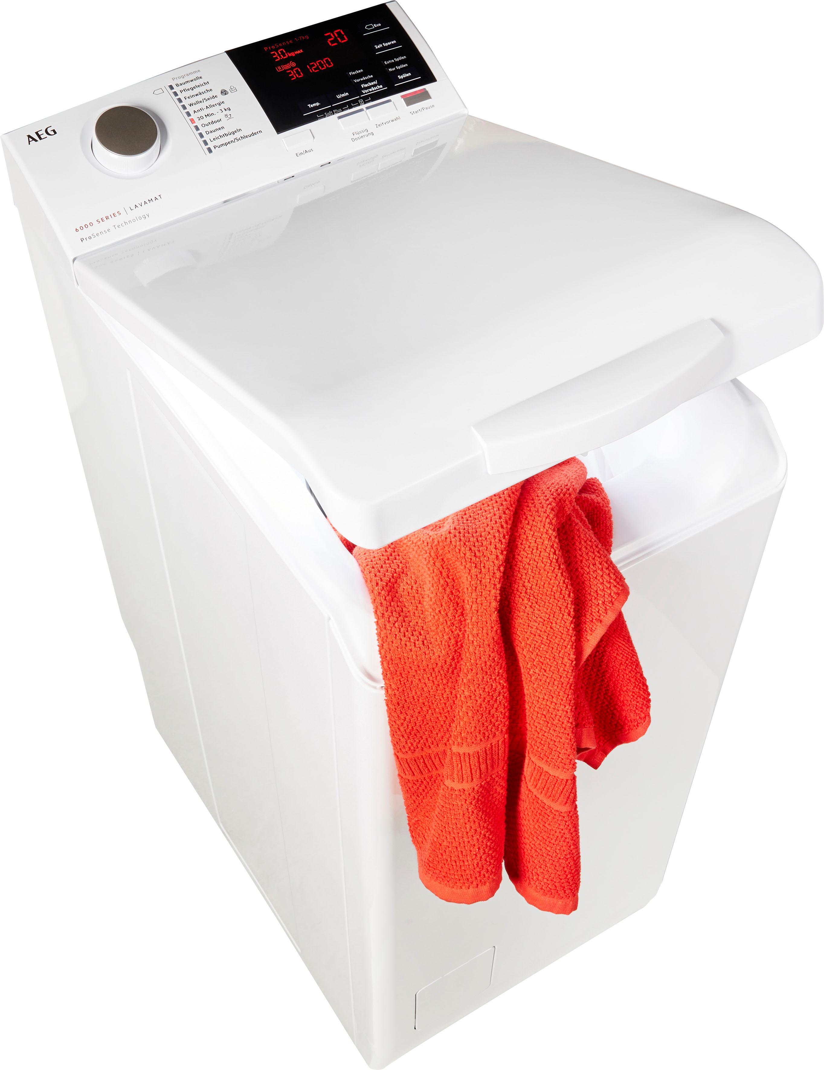 AEG Waschmaschine Toplader L6TB61370   Bad > Waschmaschinen und Trockner > Toplader   AEG