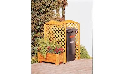 promadino Mülltonnenbox »Rex«, Abtrennung, für 1 x 240 l, inkl. Pflanzkasten kaufen