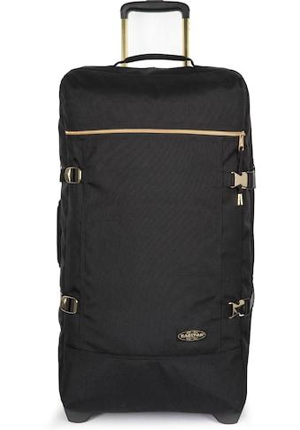 Eastpak Reisetasche »TRANVERZ M goldout black - gold« kaufen