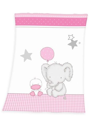 Baby Best Babydecke »Fynn Elefant«, mit Elefant & Ente kaufen