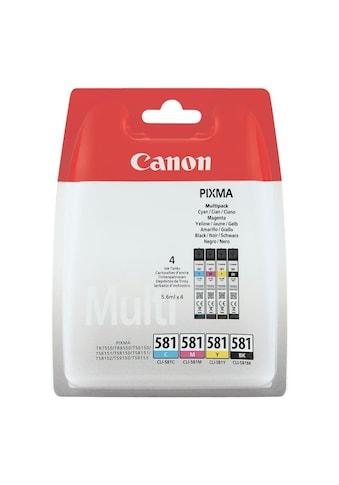Canon Tintenpatronen - Set »CLI - 581 BK/C/M/Y« kaufen