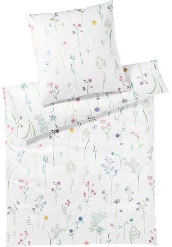 Elegante Bettwäsche »Flowery«, mit kleinen Blumenmotiven kaufen
