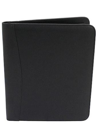 Friedrich23 Schreibmappe »DIN A4, schwarz«, mit Schreibblock im A4-Format kaufen