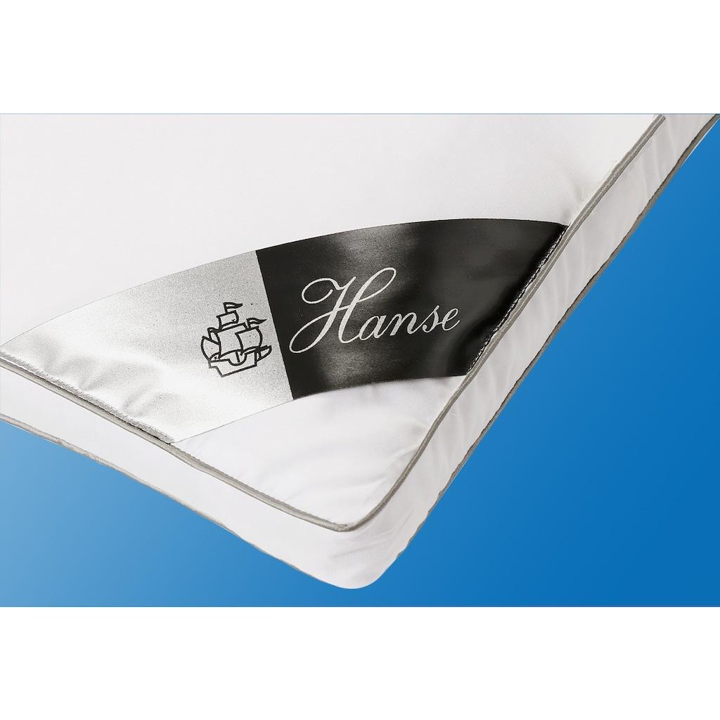 Hanse by RIBECO Kunstfaserbettdecke + Kopfkissen »Max«, (Spar-Set), Unschlagbares Preisleistungsverhältnis!