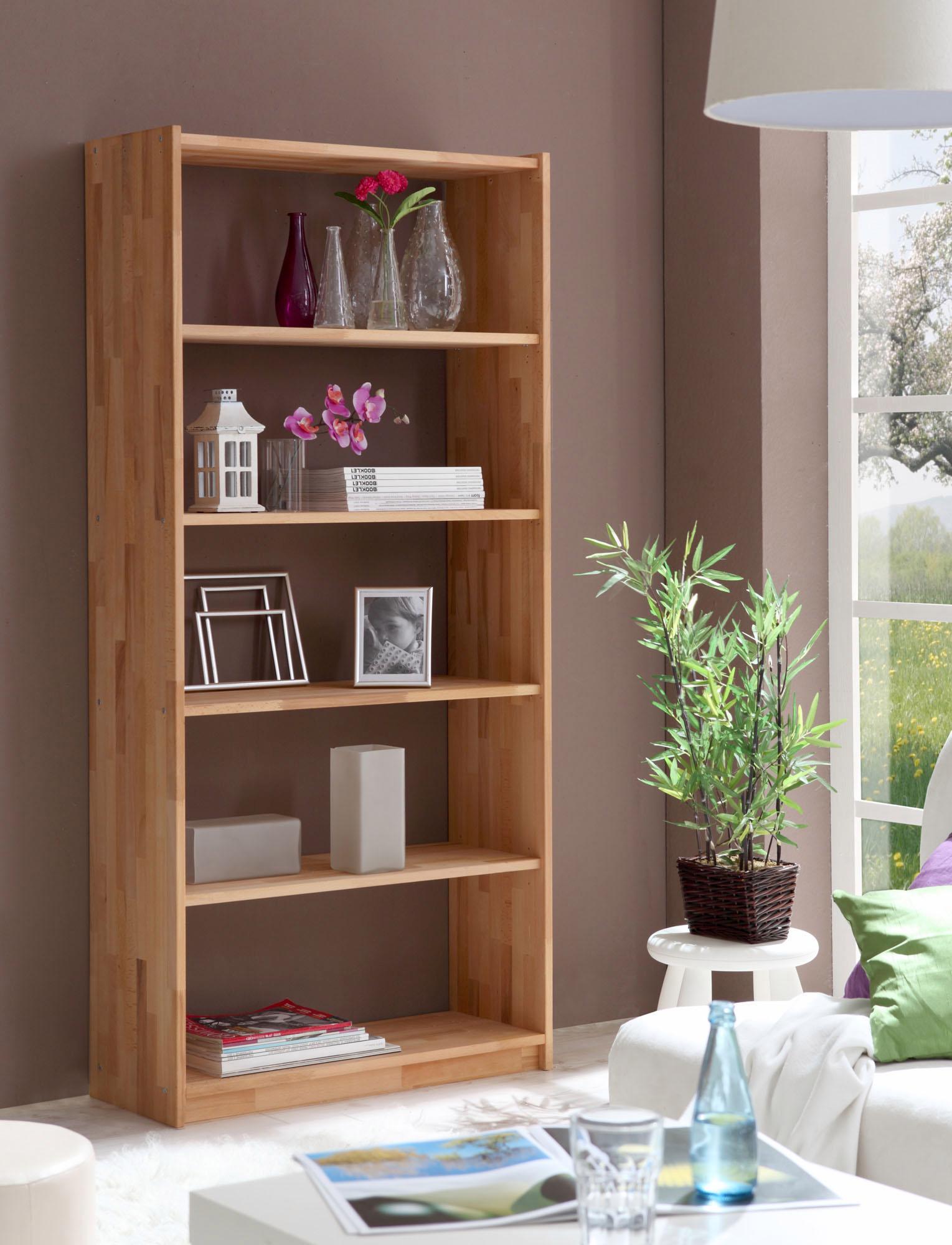 Ticaa Standregal in 3 Höhen von 111 - 214 cm, Buche | Kinderzimmer > Kinderzimmerregale | Natur | Buche | TICAA