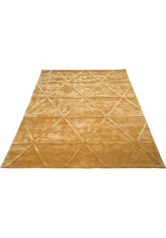 Leonique Teppich »Avan«, rechteckig, 13 mm Höhe, Hoch-Tief-Effekt, Wohnzimmer kaufen