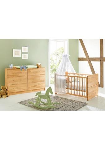 Pinolino® Babymöbel-Set »Natura«, (Spar-Set, 2 St.), extrabreit; mit Kinderbett und... kaufen