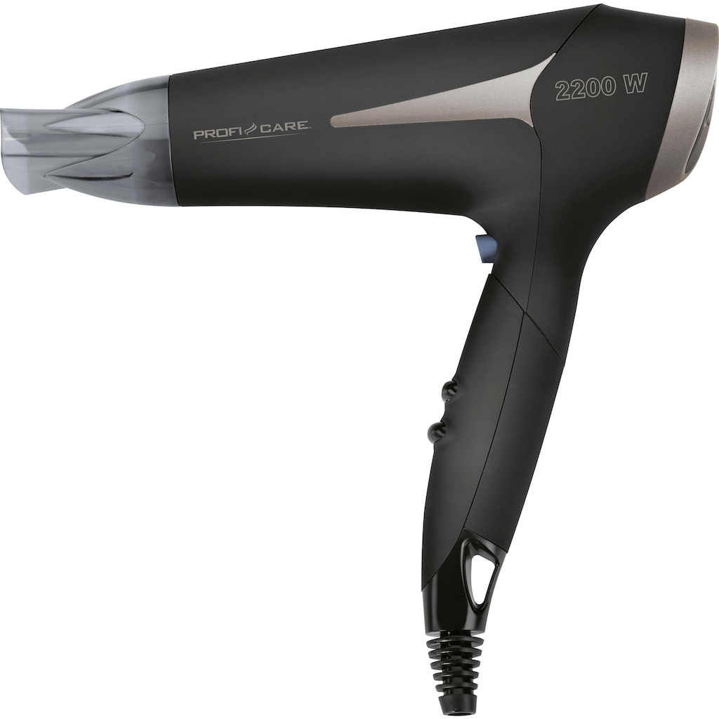 ProfiCare Haartrockner »Pc-HAT 3046«, Platzsparende Aufbewahrung durch Klappgriff