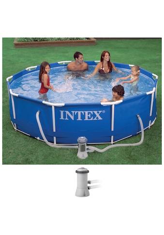 Intex Rundpool »Metal Frame«, ØxH: 305x76 cm kaufen