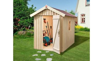 WEKA Gartenhaus »Schwedenhaus Gr.1«, BxT: 200x208cm, inkl. Fußboden, in versch. Farben kaufen
