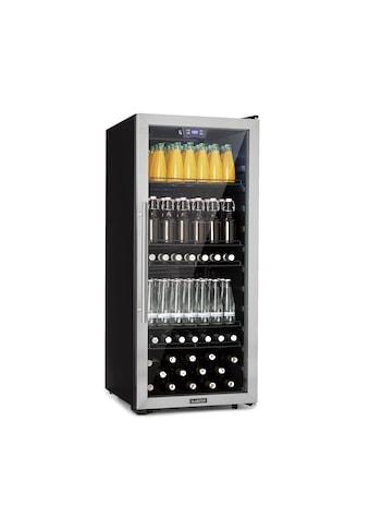 Klarstein Getränkekühlschrank 242L A+ Glas Edelstahl kaufen