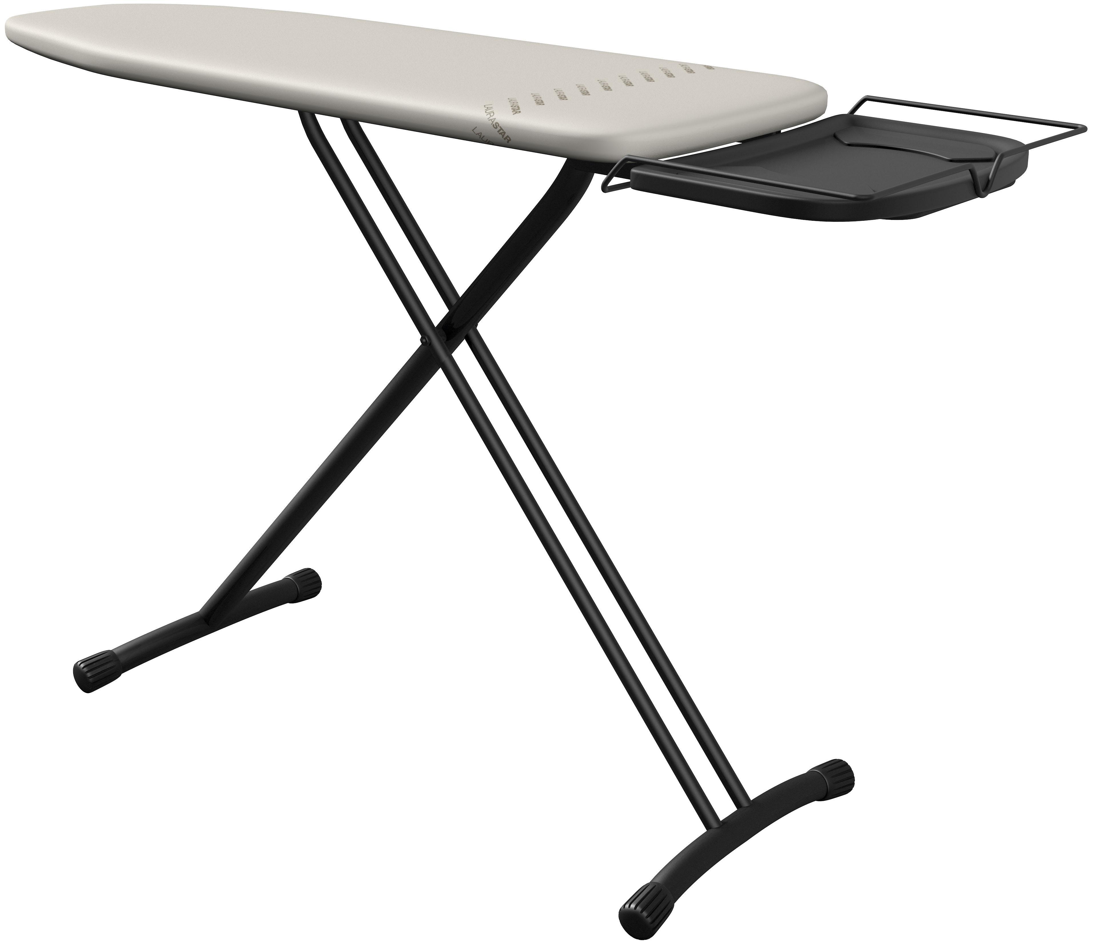 LAURASTAR Bügelbrett Comfortboard, Bügelfläche 120 x 38 cm | Flur & Diele > Haushaltsgeräte > Bügelbretter | Silberfarben | LAURA-STAR