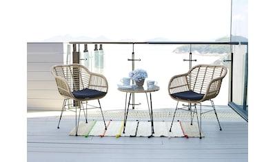 Homexperts Balkonset »Ylvi«, (5 tlg.), inklusive Sitzkissen und Beistelltisch, 2... kaufen
