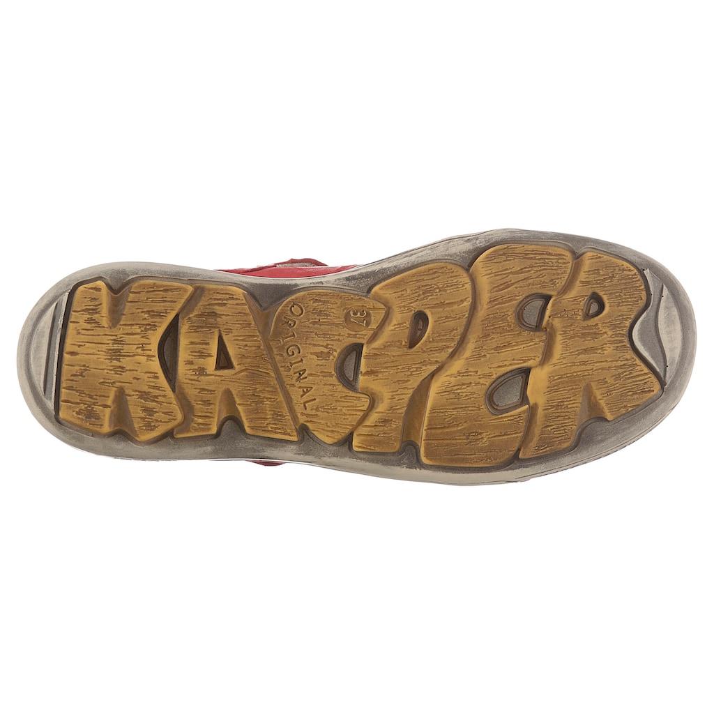 KACPER Slipper, mit feiner Perforation