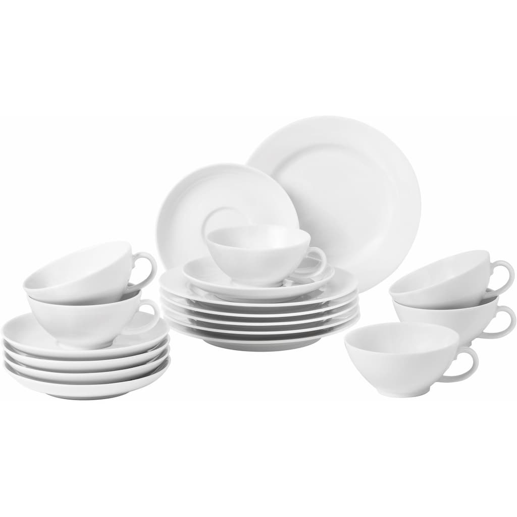 Seltmann Weiden Teeservice »Rondo«, (Set, 18 tlg.)