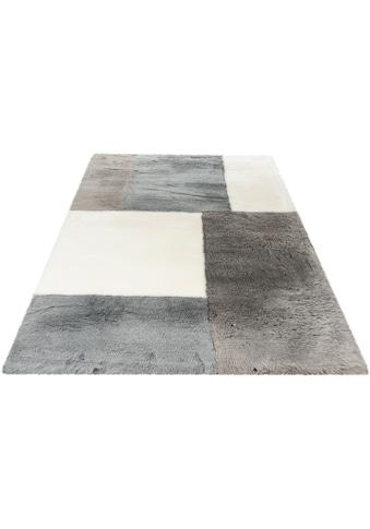 Obsession Fellteppich »My Samba Patch 380«, fellförmig, 35 mm Höhe, Kunstfell,... kaufen