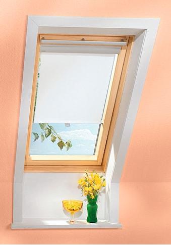 VELUX Sichtschutzrollo , für Fenstergröße 204 und 206, weiß kaufen
