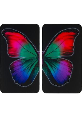 WENKO Herd-Abdeckplatte »Universal Butterfly by Night« kaufen