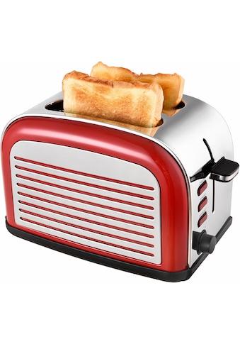 Team Kalorik Toaster »TKG TO 2500 R«, für 2 Scheiben, 1050 Watt kaufen