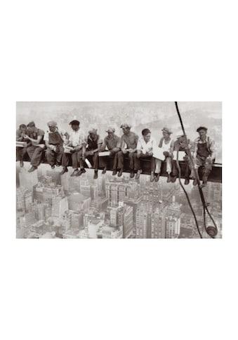 Home affaire Wandbild »Eating above Manhattan« kaufen
