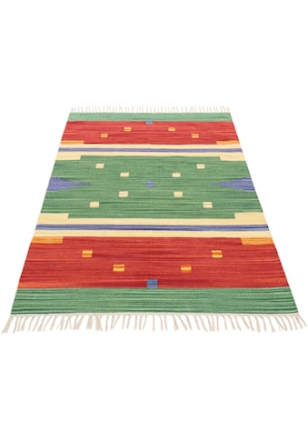 Teppich, »Kelim Amar«, carpetfine, rechteckig, Höhe 5 mm, handgewebt kaufen
