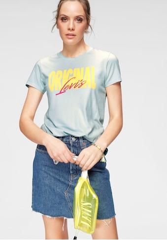 Levi's® Rundhalsshirt »The Perfect Tee«, mit Print auf der Brust kaufen