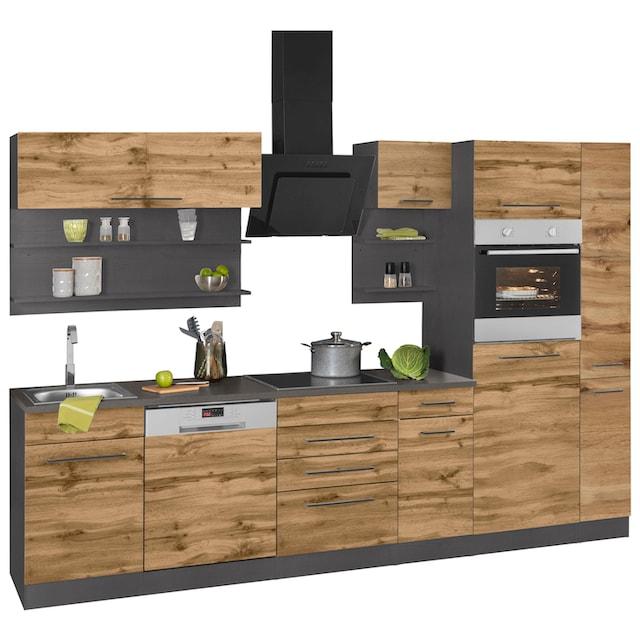 HELD MÖBEL Küchenzeile »Tulsa«, ohne E-Geräte, Breite 300 cm