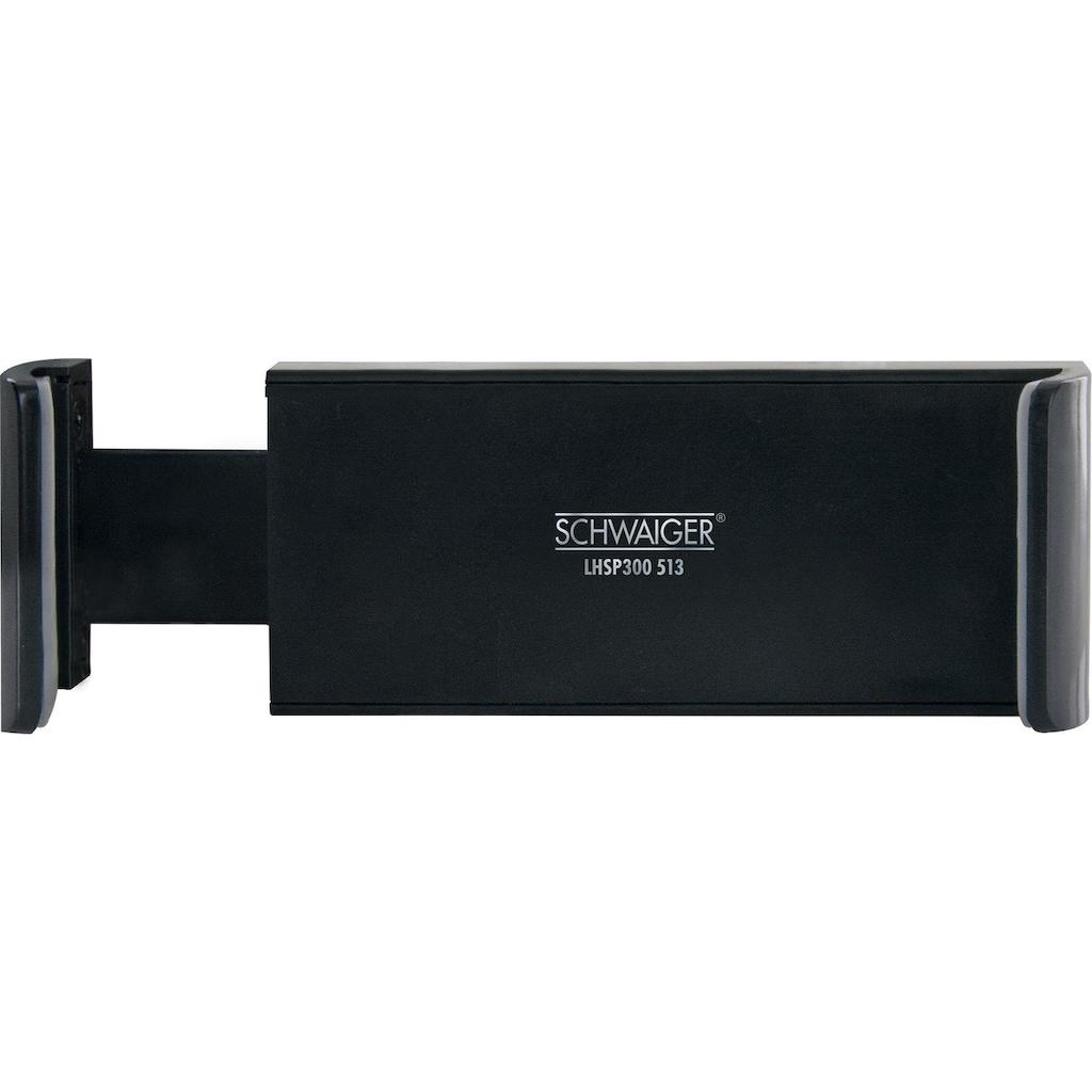 Schwaiger Universal Smartphone KFZ Halterung, 360° drehbar, 6 Zoll »für das Lüftungsgitter«