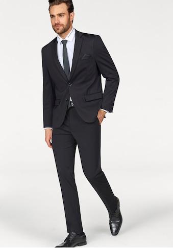 Bruno Banani Anzug, Sehr feine Struktur- Optik, mit hohem Elasthan - Anteil kaufen
