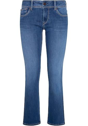 Pepe Jeans Straight-Jeans »SATURN«, mit hinterer Doppeltasche und Stretch-Anteil kaufen