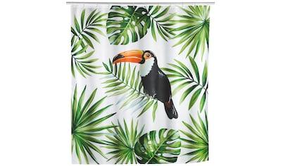 WENKO Duschvorhang »Tucan« Breite 200 cm kaufen