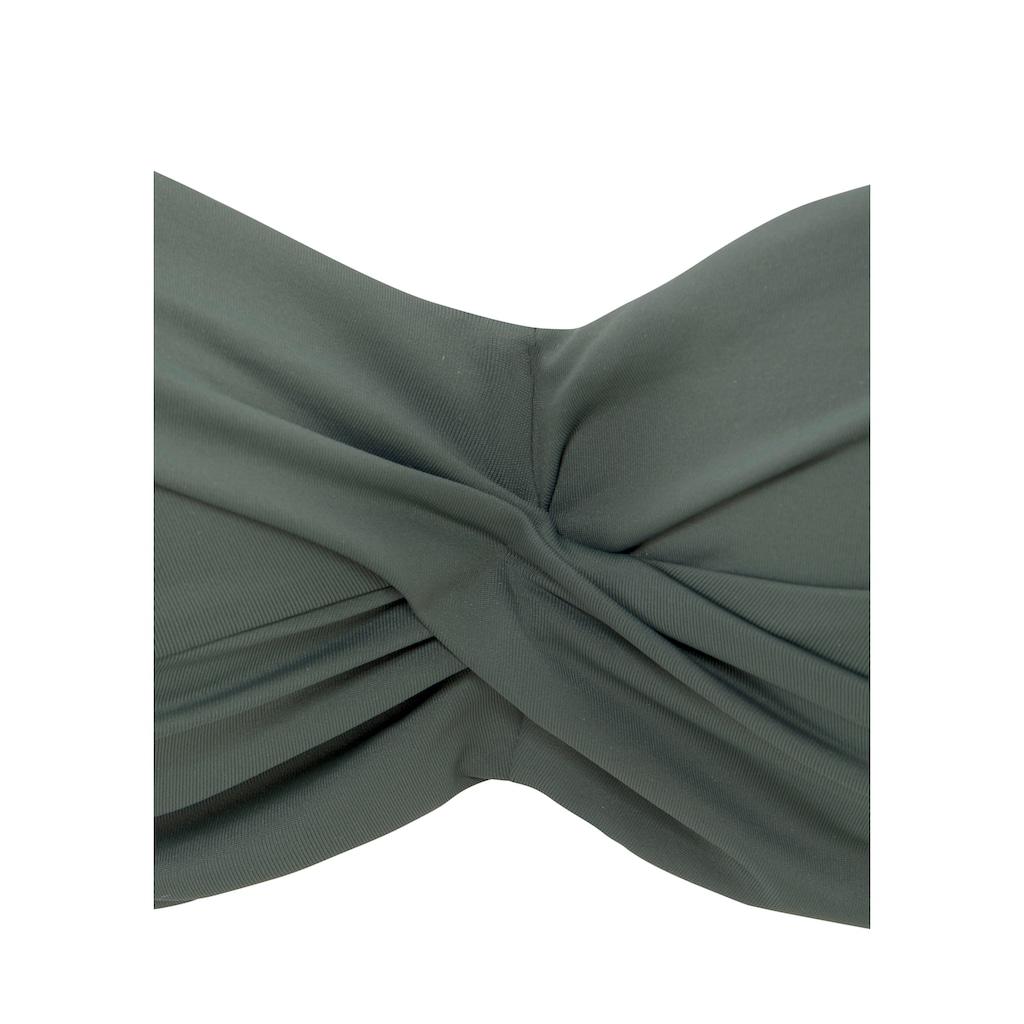 LASCANA Bandeau-Bikini-Top »Italy«, mit seitlichen Stäbchen